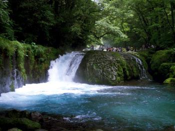 菊池渓谷の写真